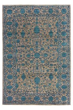 Sale 9141C - Lot 5 - Afghan Revival Bamyan, 130X190CM, Handspun Ghazni Wool