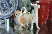 Sale 8348 - Lot 67 - Beswick Owl & Novelty Cow Cream Jug