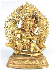 Sale 8362 - Lot 28 - Bronze Figure of a Deity