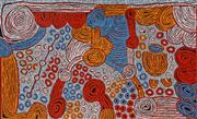 Sale 8998A - Lot 5011 - Marlene Young Nungurrayi (1973 - ) - Minyma Tjukurrpa 95 x 157 cm (stretched and ready to hang)