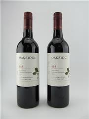 Sale 8403W - Lot 12 - 2x 2012 Oakridge 864 Single Block Release Cabernet Sauvignon, Yarra Valley