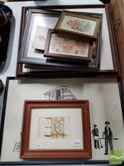 Sale 8478 - Lot 2084 - Collection of Artworks & Prints incl. Egyptian