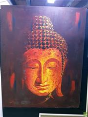 Sale 8582 - Lot 2024 - Buddha Oil on Canvas 149 x 119cm