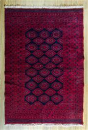 Sale 8680C - Lot 94 - Afghan Qunduzi 190cm x 128cm