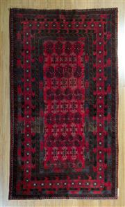 Sale 8717C - Lot 86 - Afghan Qunduzi 228cm x 122cm