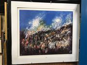 Sale 8726 - Lot 2087 - Signed Pro Hart Limited Edition Print, unframed