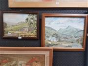 Sale 8762 - Lot 2093 - 2 Watercolours