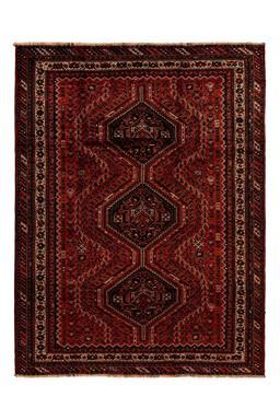 Sale 9141C - Lot 7 - PERSIAN Nomadic Qashgai, 225X300cm, Handspun Wool