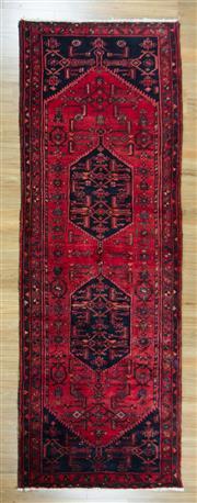 Sale 8653C - Lot 55 - Persian Shiraz 320cm x 110cm