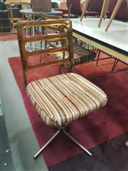 Sale 8676 - Lot 1110 - Pair of Namco Perspex Back Swivel Chairs