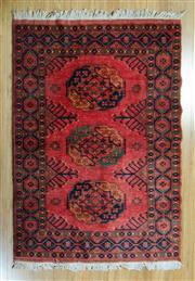 Sale 8717C - Lot 87 - Afghan Esari Chobi 174cm x 121cm