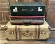 Sale 8804A - Lot 174 - Three graduated luggage cases, the largest W 76cm