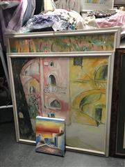 Sale 8833 - Lot 2087 - Group of Three Assorted Artworks