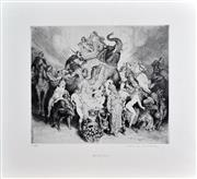 Sale 8349A - Lot 52 - Norman Lindsay (1879 - 1969) - Merchandise 21.5 x 25cm