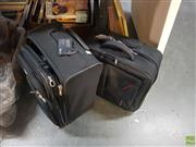 Sale 8582 - Lot 2454 - Samsonite Travel Bags with a Delsey Laptop Travel Bag