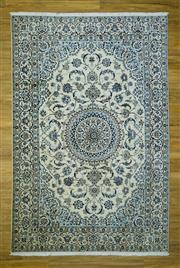 Sale 8601C - Lot 57 - Super Fine Persian Nain Silk inlay 303x203