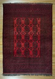 Sale 8653C - Lot 56 - Afghan Qunduzi 300cm x 200cm