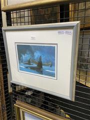 Sale 8978 - Lot 2032 - Gordan Miller Decorative Print Passing Friends 33 x 39cm (frame)