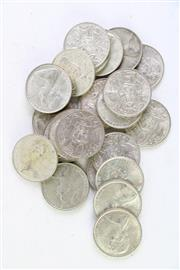 Sale 8994 - Lot 57 - Collection of 25 Round Australian 50 Cent Coins