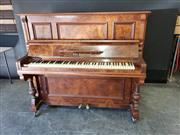 Sale 9026 - Lot 1077 - Emil Dressler Piano (H134 x D60 x W154cm)