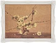 Sale 8374 - Lot 580 - Allan Thomas Bernaldo (1900 - 1988) - Still Life - Japonica 28.5 x 40cm