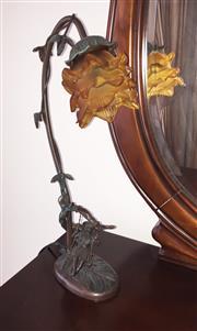 Sale 8338A - Lot 95 - A pair of Art Nouveau style table lamps