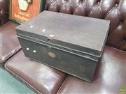 Sale 8648C - Lot 1048 - Metal Trunk