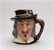 Sale 8716A - Lot 70 - Royal Doulton character jug of Izaak Walton to commemorate the 300th anniversary of THE COMPLEAT ANGLER 1653 - 1953. C: 1953