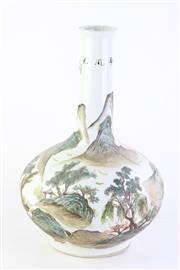 Sale 8802 - Lot 149 - Chinese Republic style flask bottom vase (H; 44cm)
