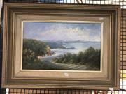 Sale 8819 - Lot 2144 - M.McPhee - North From Copa, oil on board, SLR