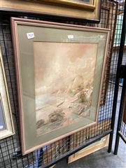 Sale 8891 - Lot 2024 - A Stone - Beachside House, watercolour, signed