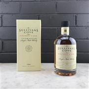 Sale 9017W - Lot 14 - Sullivans Cove Rare Double Cask Single Malt Tasmanian Whisky - barrel no. DC103, bottle no. 195/1331, barrel date 18/01/2008, bott...