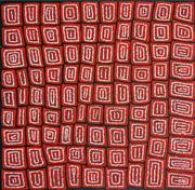 Sale 8321 - Lot 561 - Thomas Tjapaltjarri (c1964 - ) - Tingari 96 x 98cm