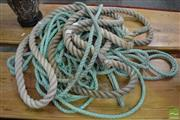 Sale 8480 - Lot 1174 - Qty of Rope incl Blue & White