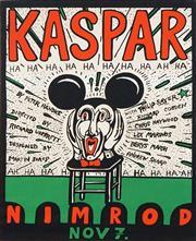 Sale 8565 - Lot 550 - Martin Sharp (1942 - 2013) - Kaspar (Nimrod) 58.5 x 44.5cm