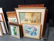 Sale 8686 - Lot 2073 - Large Collection of Artworks incl Hill & Dubach -