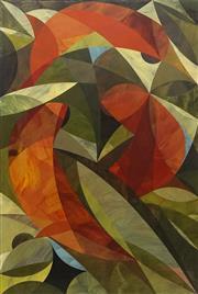 Sale 8708A - Lot 556 - Robert Moore (1964 - ) - King Parrots, 2014 91.5 x 61cm