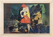 Sale 8765 - Lot 1056 - A vintage colour lithograph After Xavier Gonzalez (1898–1993) Hong Kong, 1959 (68 x 94cm) -