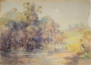 Sale 8838 - Lot 588 - Arthur Merric Boyd (1862 - 1940) - Untitled 28 x 38.5cm