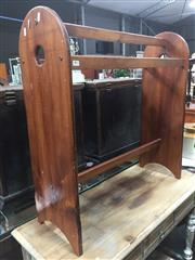Sale 8822 - Lot 1715 - Timber Towel Rail