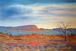 Sale 9091A - Lot 5031 - Jack Absalom (1927 - 2019) - Kuntjy Country - Everard Ranges 43 x 60.5 cm