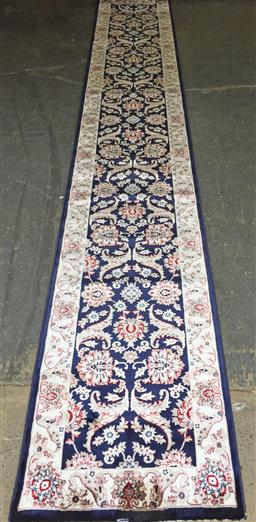 Sale 9146 - Lot 1087 - Turkish made machine made runner ( 80 x 500cm)