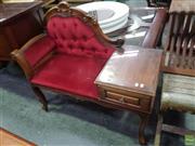 Sale 8601 - Lot 1432 - French Style Telephone Table