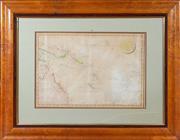 Sale 8625A - Lot 81 - A framed map; The Grand Ocean, New Guinea, New Holland por la Intelligence do Voyage du Frigat Espagnol La Princess Comande Par le F...
