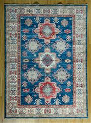 Sale 8680C - Lot 98 - Afghan Super Kazak 198cm x 150cm