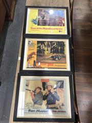Sale 8787 - Lot 1061 - Set of 3 Vintage Prints