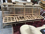 Sale 8817 - Lot 1036 - Timber 4 Seater Bench