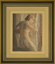 Sale 9080J - Lot 79 - Arthur Murch - Female 37x29cm
