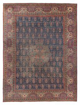 Sale 9141C - Lot 12 - ANTIQUE PERSIAN KERMAN C1930, 340X455Cm, Handspun Wool