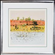 Sale 8347A - Lot 88 - Clement (Clem) Millward (1929 - ) - Red Dune, 1993 59 x 60cm